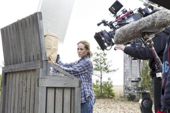 Après avoir tourné avec Denis Villeneuve dans <em>Prisoners</em>, l'actrice américaine Maria Bello incarne Jean, la mère de cette famille recomposée. (Photo: fournie par Films Séville)