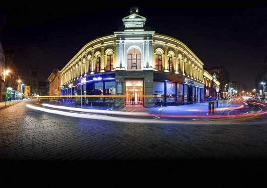Merchant City, le coeur historique deGlasgow, compte de nombreux hôtels particuliers transformés en chic boutiques. (Photo fournie par Glasgow Life)