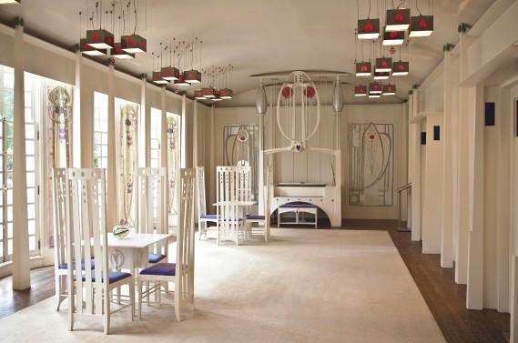 Élaborée pour un concours d'architecture en 1900, il aura fallu près d'un siècle pour que la«Maison pour un amateur d'art» de Charles Rennie MacKintosh puisse enfin voir le jour. (Photo fournie par Glasgow Life)