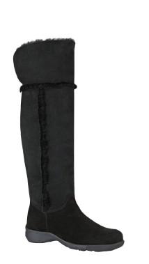 La botte haut de gamme Tami de La Canadienne est doublée de toison d'agneau, 550 $. ()