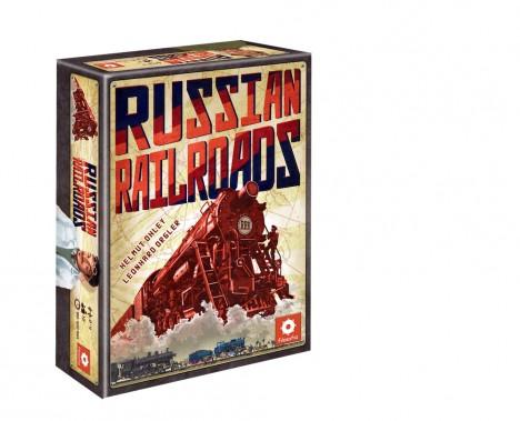 Le Lys Passionnés 2014 va au jeu Russian Railroads, des concepteurs Helmut Ohley et Leonhard Orgler (éditions Filosofia). C'est un jeu de stratégie pour joueurs de 12 ans et plus, qui consiste à construire un réseau de voies ferrées en faisant preuve d'opportunisme. (Photo fournie par Les Trois Lys)