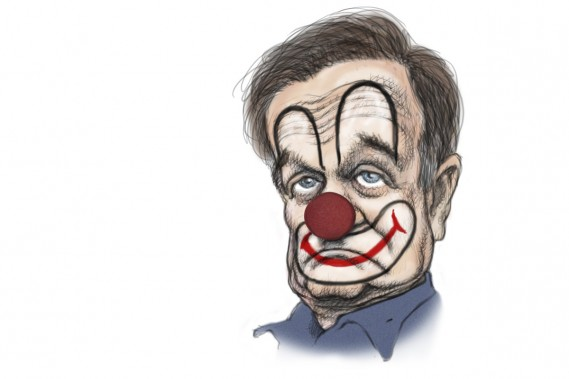 Robin Williams (Illustration: Serge Chapleau, La Presse)