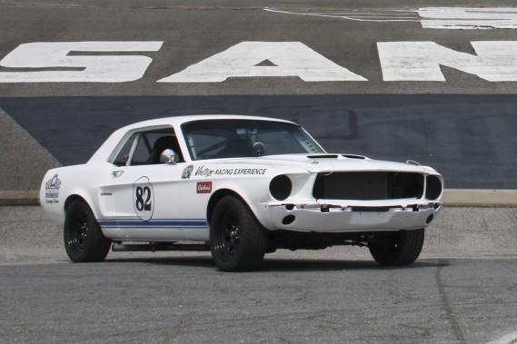 Mustang 1964; V8 de 289 pouces cubes (4,7 litres); 375 chevaux.   (Photo fournie par Expérience de Course Vintage)