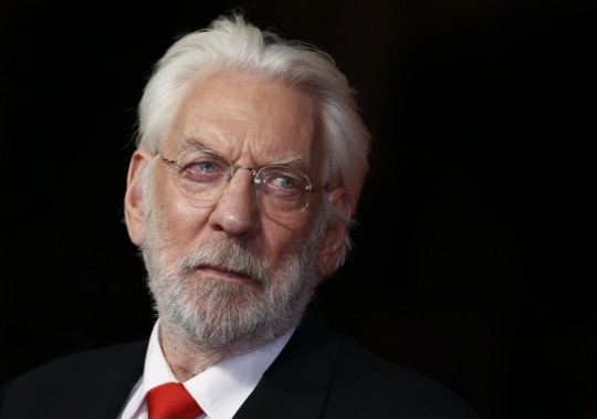 Donald Sutherland (Photo: Reuters)