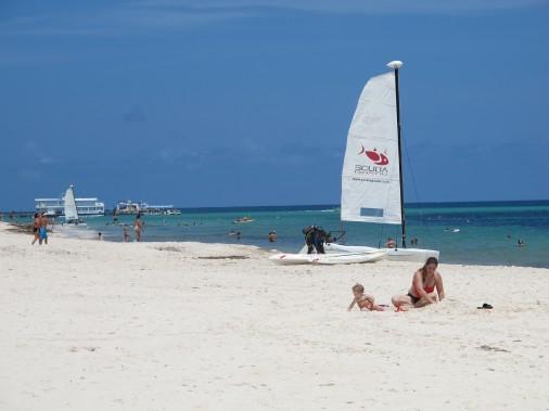La plage duReserve Paradisius Palma Real estplutôt jolie. (PHOTO NATHAËLLE MORISSETTE, LA PRESSE)