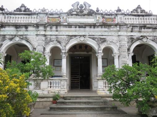 La maison de L'amant à Sadec, au Viêtnam.<br /><br /> (Photo Andrée Lebel, La Presse)