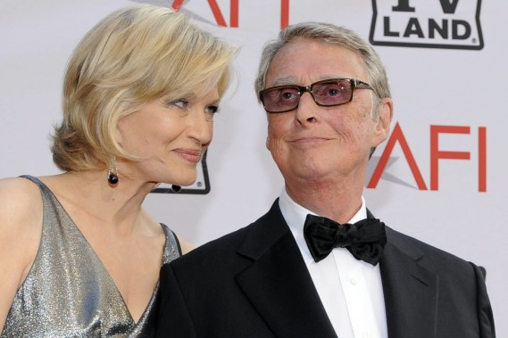Diane Sawyer en compagnie de son mari, le réalisateur Mike Nichols. (Photo: archives AP)