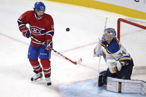 Le Canadien a profité des erreurs de son adversaire à plusieurs reprises. (Photo Bernard Brault, La Presse)