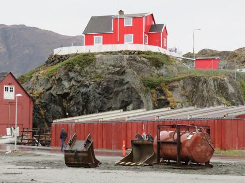 Le territoire duGroenland, qui appartient au Danemark, est recouvert à 85% par la calotte glaciaire. (PHOTO ANDRÉE LEBEL, LA PRESSE)