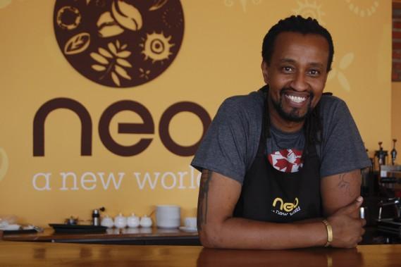 Le café Neo, à Kigali, est tenu par un Rwandais qui a vécu près de 30 ans au Canada et qui s'est associé à un exportateur de café pour s'assurer d'obtenir les meilleurs grains. (Photo Jean-Thomas Léveillé, La Presse)