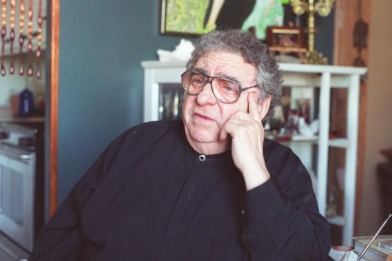 Paul Buissonneau en novembre 2001. (Photo: archives La Presse)