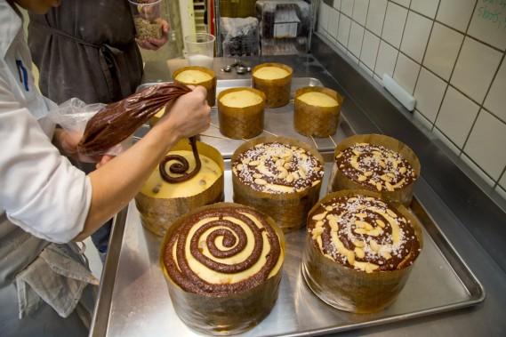 Jeffrey Finkelstein a appris à faire des panettones à la bonne école: chez Oriol Balager, l'un des pâtissiers les plus réputés d'Europe, lui-même formé auprès de maîtres italiens. (Photo Alain Roberge, La Presse)