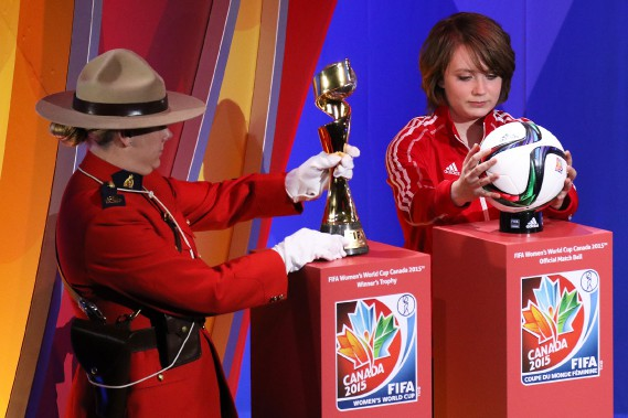 Les symboles canadiens étaient à l'honneur. (Patrick Woodbury, LeDroit)