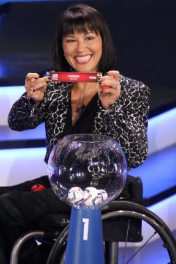 La championne paralympique Chantal Petitclerc a également pris part à la cérémonie. (Patrick Woodbury, LeDroit)