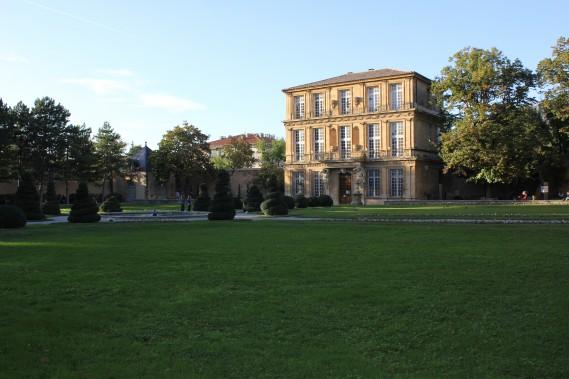 Le pavillon Vendôme est entouré de magnifiques jardins à la française. (PHOTO VÉRONIQUE BEAUDET, COLLABORATION SPÉCIALE)