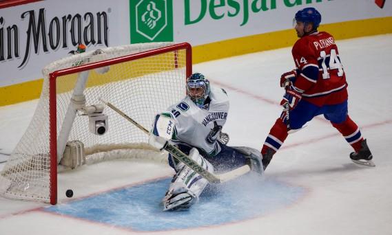Tomas Plekanec a assuré la victoire du Canadien en fin de 3e période. (André Pichette, La Presse)