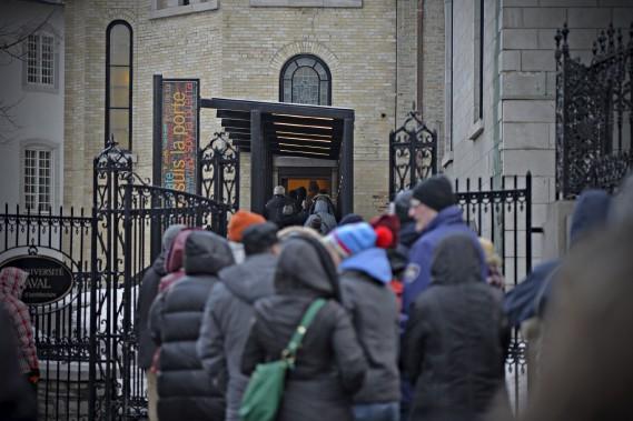La porte sainte a accueilli 325 000 personnes. (Le Soleil, Pascal Ratthé)