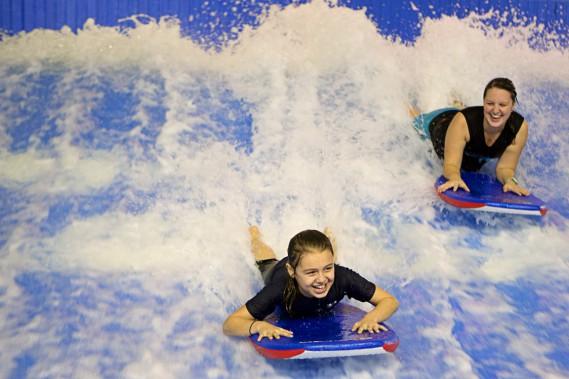 Maeva Surf (PHOTO SIMON GIROUX, LA PRESSE)