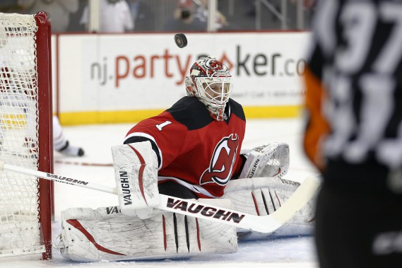 Keith Kinkaid a failli à la tâche. (Photo AP)