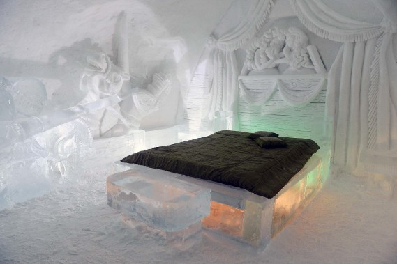 L'une des suites somptueusement sculptées, inspirée du Moyen Âge (Le Soleil, Erick Labbé)