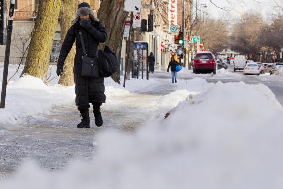 Les services de sécurité ont mis en garde les Canadiens face au «danger élevé pour la santé (engelure, hypothermie, etc.)» au cours des prochains jours. (Photo Alain Roberge, La Presse)