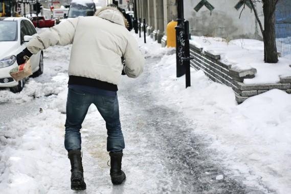 Montréal aurait pu en faire davantage pour faciliter le retour au travail après la pause des Fêtes, estime Michel Parent, président du Syndicat des cols bleus regroupés. (Photo Martin Chamberland, La Presse)