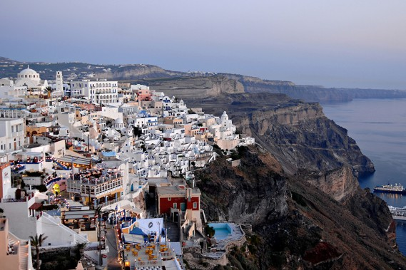 Santorini (Photo Bernard Brault, archives La Presse)
