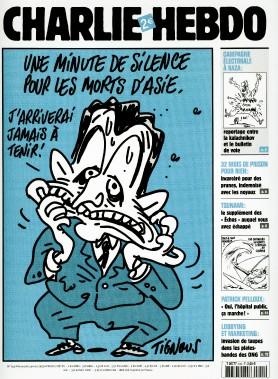 Caricature de Tignous, janvier 2005 ()