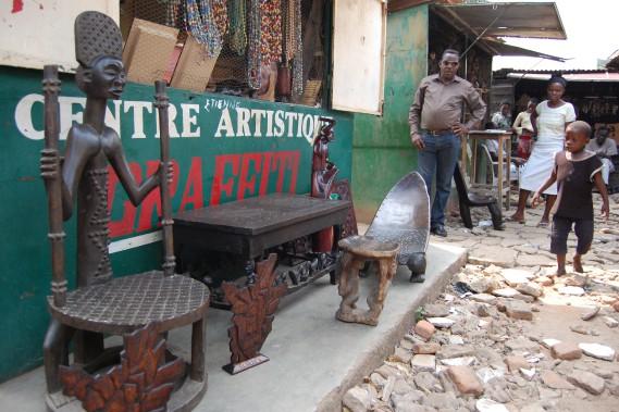 Le marché congolais de Bujumbura offre de bonnes affaires à qui sait négocier à l'africaine. (Photo Jean-Thomas Léveillé, La Presse)