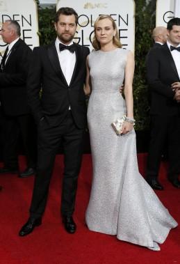 L'actrice Diane Kruger et Joshua Jackson (Photo MARIO ANZUONI, Reuters)
