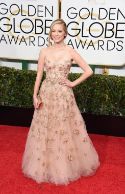 Greer Grammer en Lorena Sarbu (Photo MARK RALSTON, AFP)