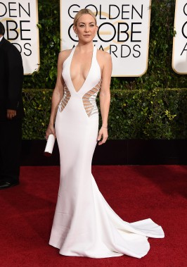 Kate Hudson en Versace (Photo Jordan Strauss, AP)