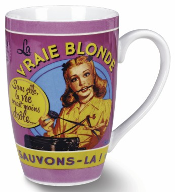 Tasse La vraie blonde, 8,99 $ (Fournie par Maestria International)