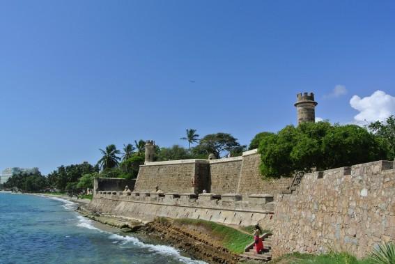 Le Castillo Carlos de Borromeo fait partie des deux fortins en bon état de l'époque où l'on tentait de protéger la colonie des attaques de pirates. (PHOTO DAVID RIENDEAU, COLLABORATION SPÉCIALE)