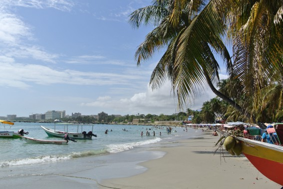 Histoire de se reposer etde profiter du soleil, directionla plage de Pampatar. (PHOTO DAVID RIENDEAU, COLLABORATION SPÉCIALE)