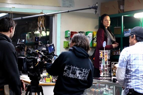La première scène tournée pour le long-métrage Le Dep. (Patrick Woodbury, LeDroit)