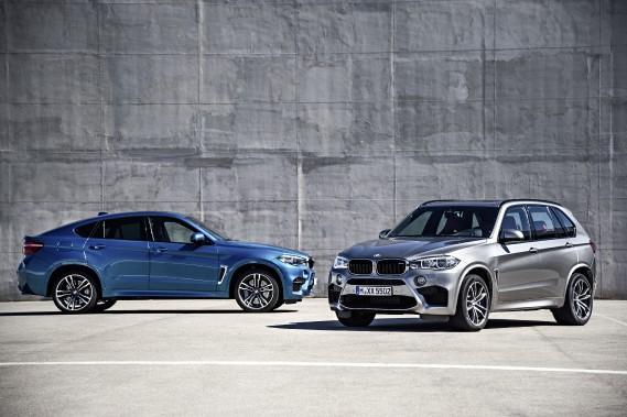 Groupe BMW: les X5 et X6 à saveur M
