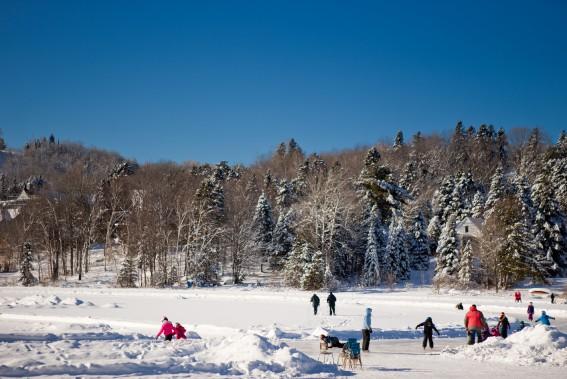 Les touristes qui vont dans le Nord trouvent-ils encore leur compte dans les Laurentides? (Photo Marco Campanozzi, La Presse)