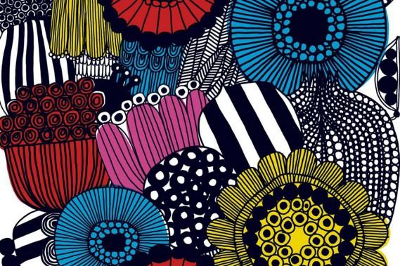 EQ3 vend les textiles de la marque finlandaise Marimekko au mètre. (Photo fournie par Marimekko)