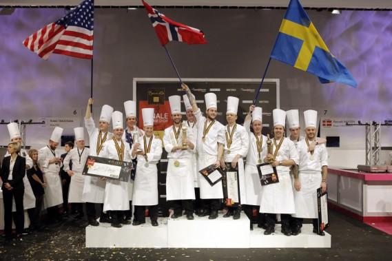 Les Norvégiens, maîtres incontestés de cette compétition l'ont remportée pour la cinquième fois. (Photo Laurent Cipriani, AP)