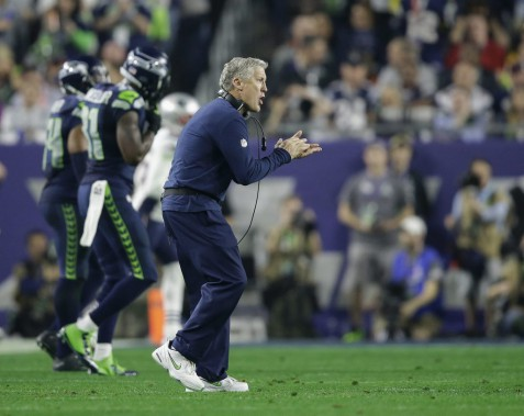 Pete Carroll (PHOTO MATT ROURKE, ASSOCIATED PRESS)