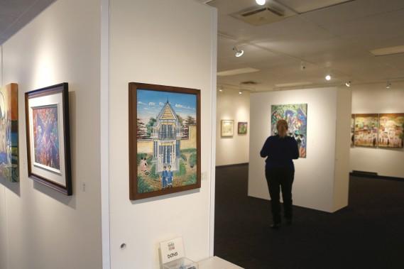 Le Musée d'art naïf est une bonne sortie pour se familiariser avec un art qui n'est pas toujours apprécié à sa juste valeur. (Photo Martin Chamberland, La Presse)