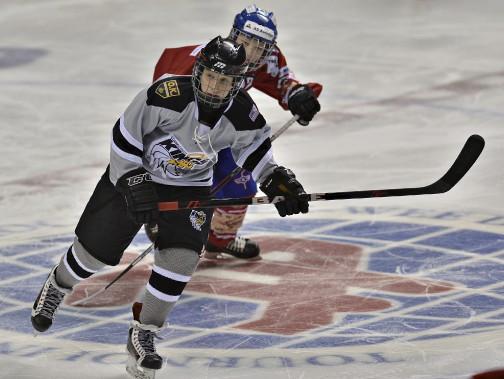Nikita Kovalev, le fils d'Alexei Kovalev, joue pour les Oil Kings du Connecticut. (Le Soleil, Patrice Laroche)