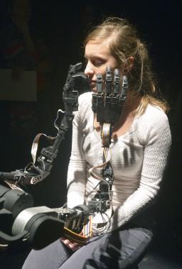 <em>The Blind Robot</em> de Louis-Philippe Demers, Salle multi (Photo Le Soleil, Jean-Marie Villeneuve)