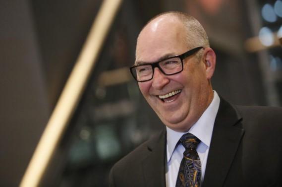 Richard Legault, chef de la direction d'Énergie renouvelable Brookfield, a été nommé Personnalité de l'année 2014 <em>LeDroit</em>/Radio-Canada. (Simon Séguin-Bertrand, LeDroit)