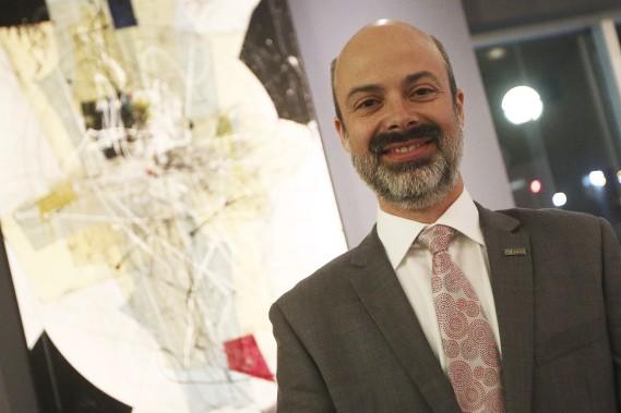 Stéphane Boucharda été nommé personnalité de l'année dans la catégorieSanté, sciences et technologies. (Etienne Ranger, LeDroit)