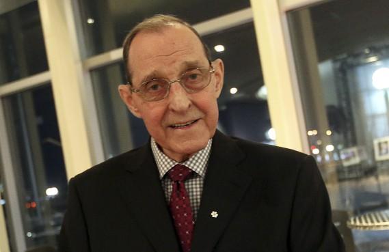 Bernard Grandmaître a été nommé personnalité de l'année dans la catégorieEngagement social/vie professionnelle. (Etienne Ranger, LeDroit)