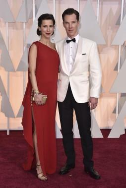 Sophie Hunter et Benedict Cumberbatch (AP)