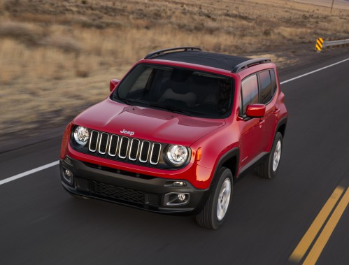 <strong>Jeep Renegade 2015 </strong>— À partir de 19 995 $ (Photo fournie par Jeep)