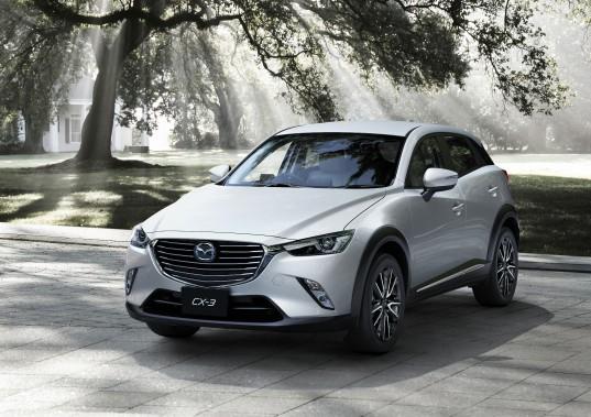 <strong>Mazda CX-3 2016</strong>- Prix non dévoilé (Photo fournie par Mazda)